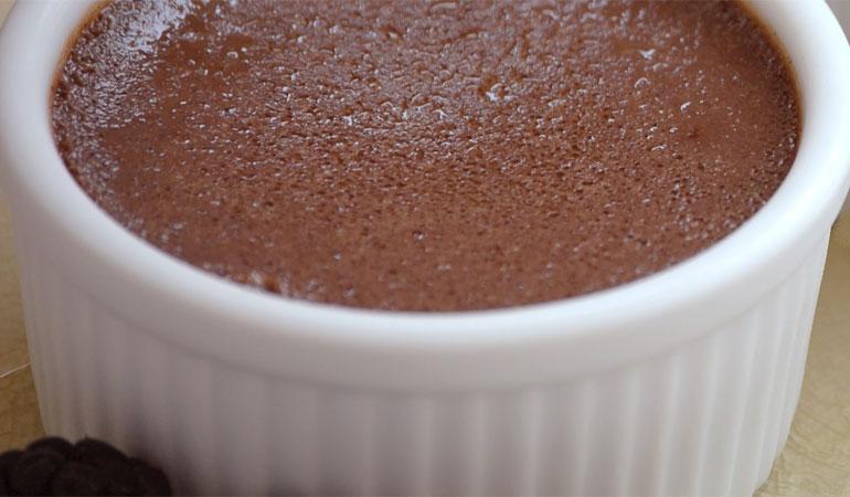 healthy chocolate cheesecake